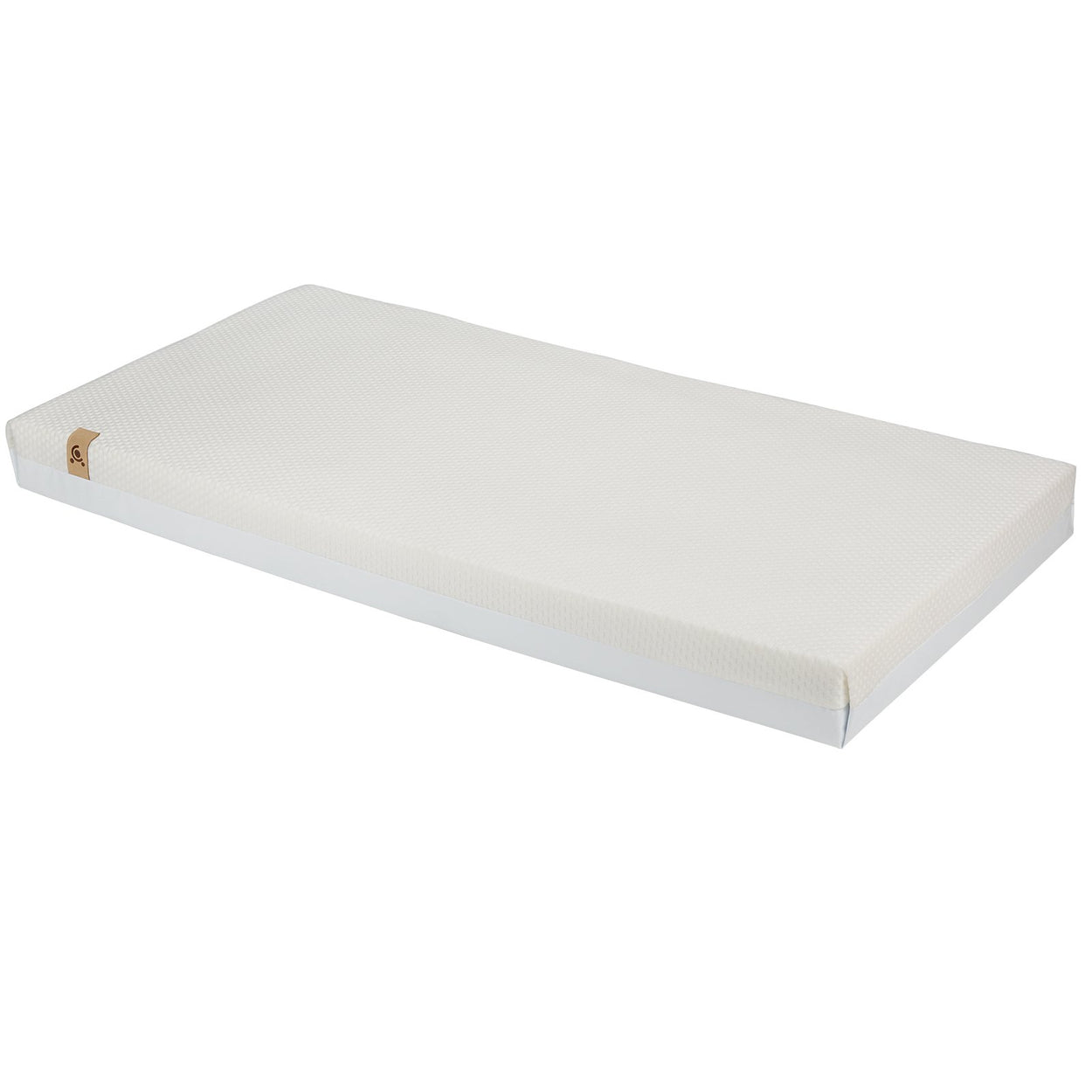 Signature Hypo-Allergenic Bamboo Pocket Sprung Cot Bed Mattress 140 x 70cm CuddleCo