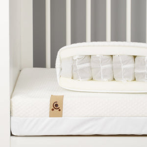 Signature Hypo-Allergenic Bamboo Pocket Sprung Cot Bed Mattress 140 x 70cm Mattresses CuddleCo