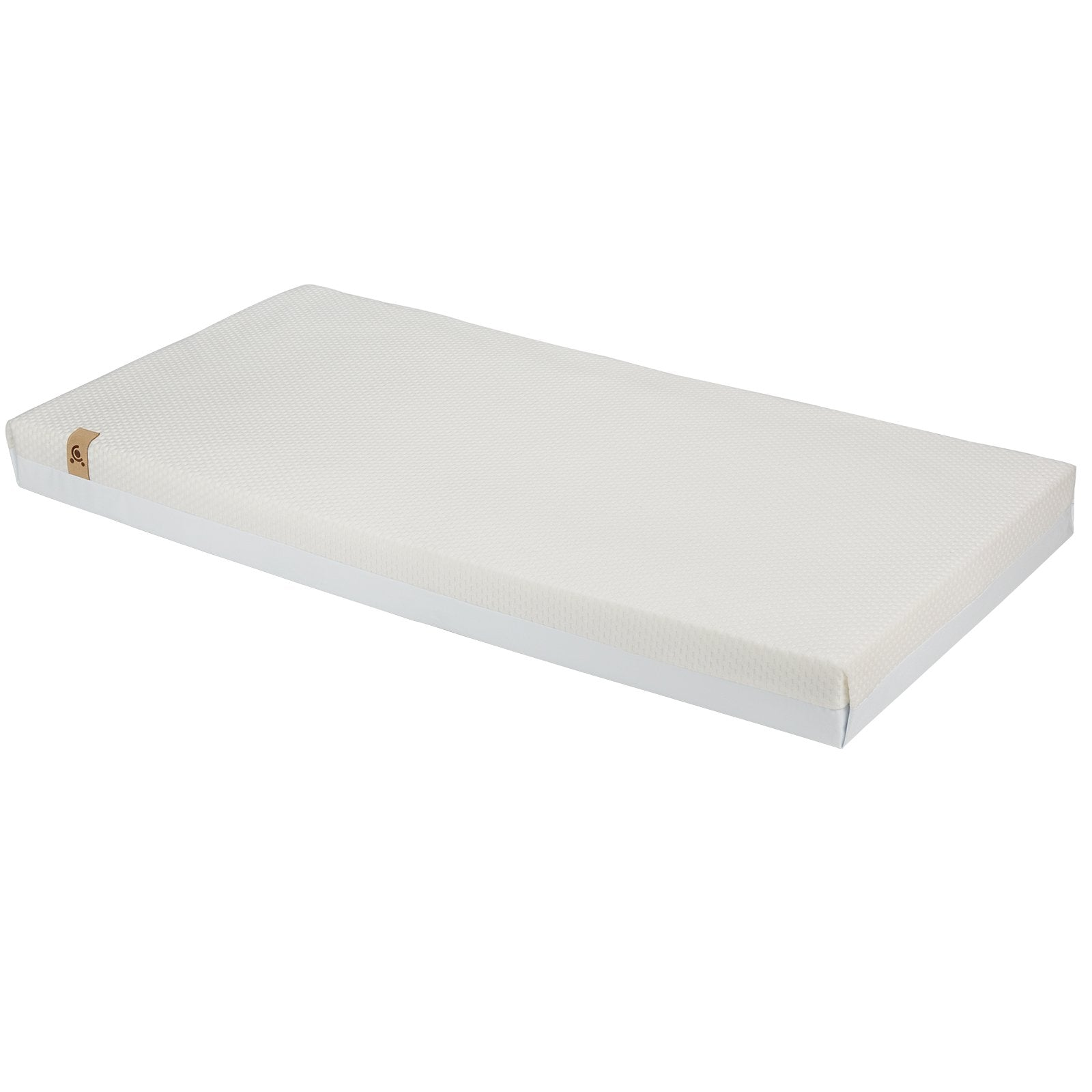 Aylesbury Cot Bed White + Signature Hypo-Allergenic Bamboo Pocket Sprung Cot Bed Mattress Furniture CuddleCo
