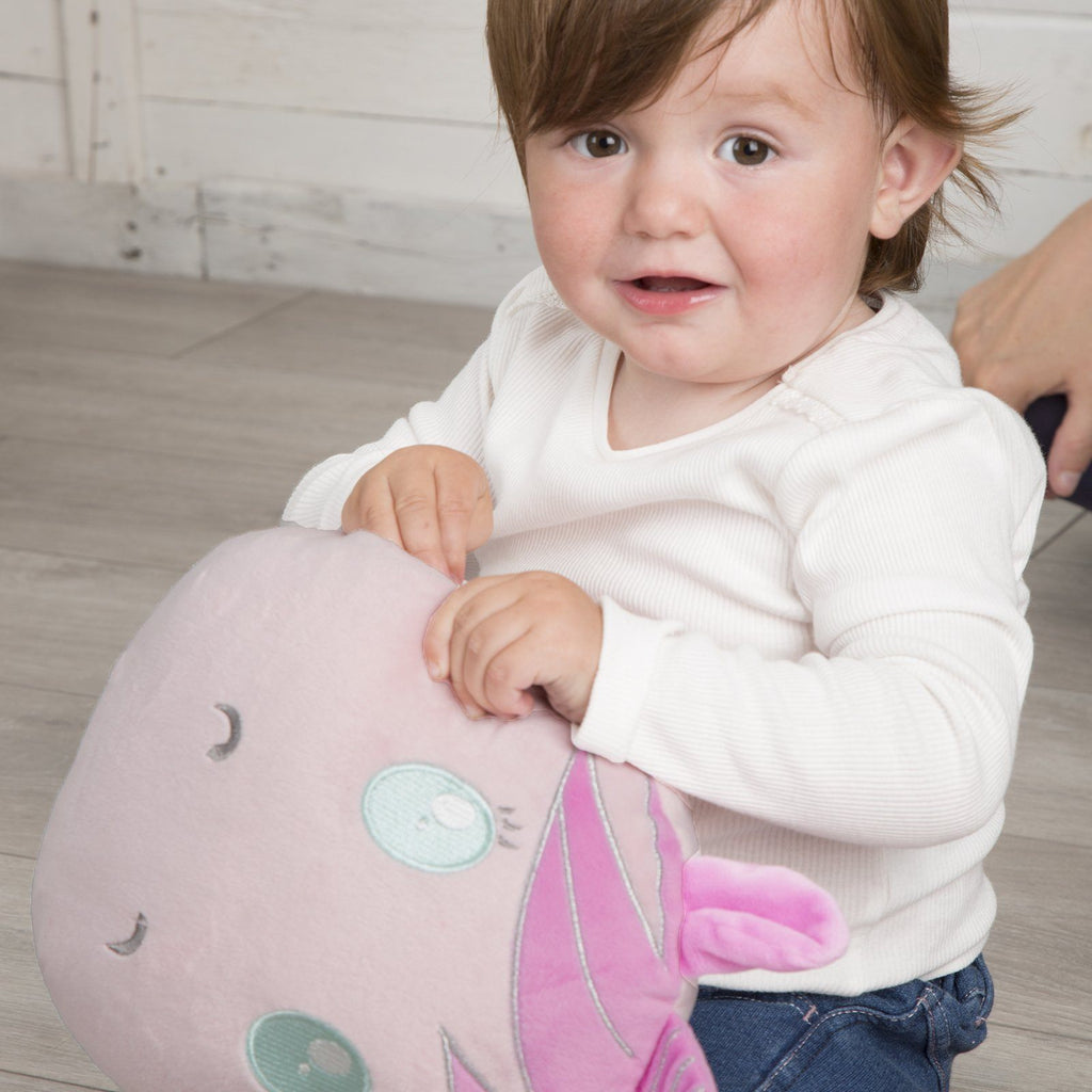 Comfi-Snuggle Pillow & Hand Warmer - Sparkles the Unicorn