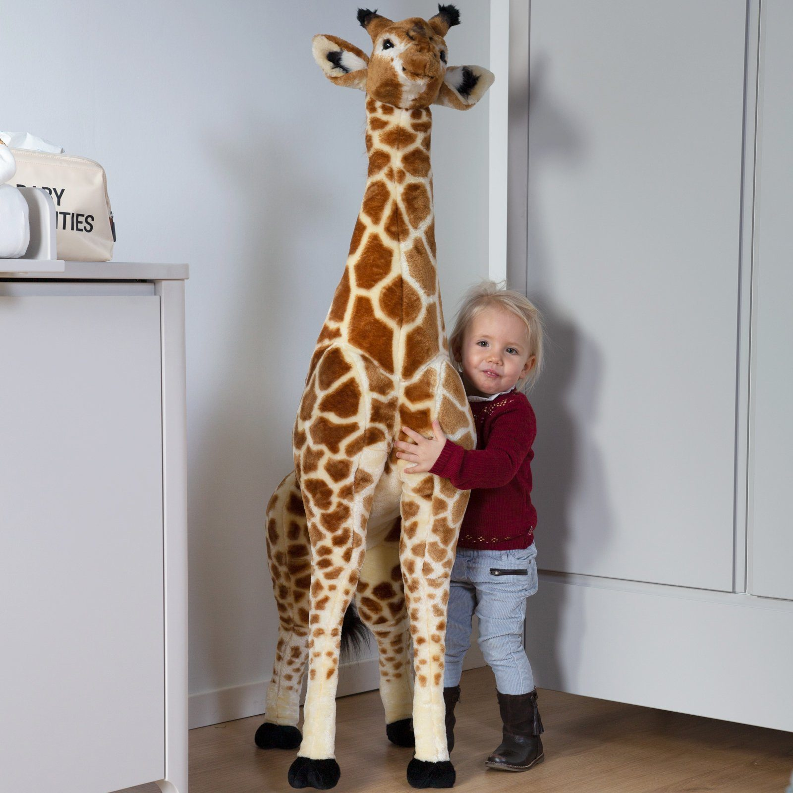 Standing Giraffe 140 cm Nursery Decor Childhome