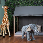 Load image into Gallery viewer, Standing Giraffe 140 cm Nursery Decor Childhome
