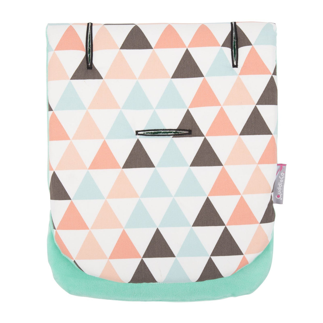Comfi-Cush Memory Foam Stroller Liner - Triangles On The Go cuddleco