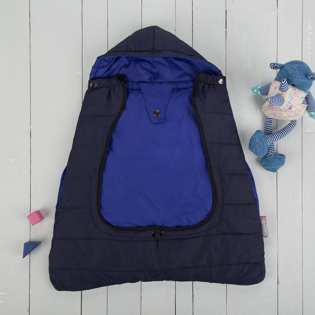 Comfi-Cape 2in1 Carrier Cape and Stroller Liner - Twilight