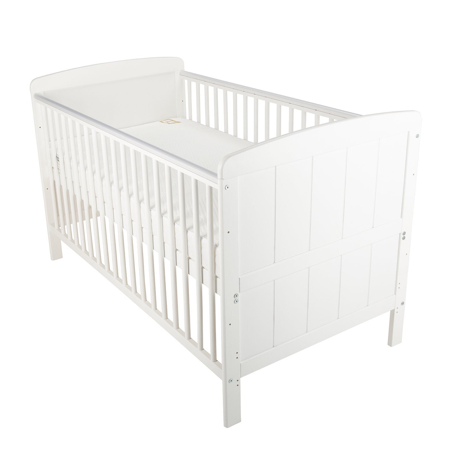 Juliet Cot Bed White cuddleco