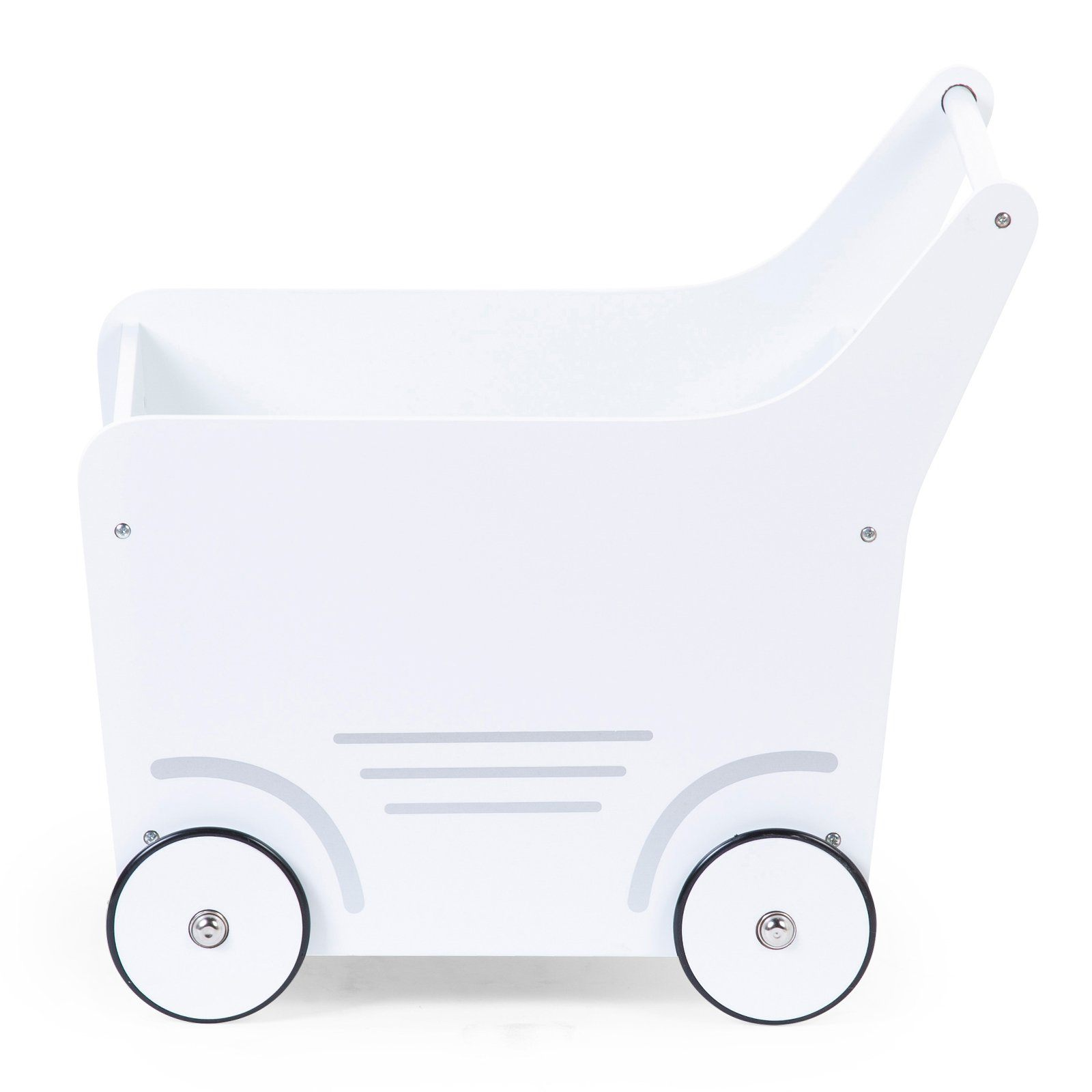 Wooden Stroller - White Childhome