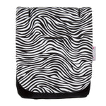 Load image into Gallery viewer, Comfi-Cush Memory Foam Stroller Liner - Zebra On The Go cuddleco