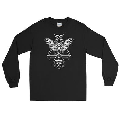 Hawkmoth Sugar Skull Long Sleeve Shirt