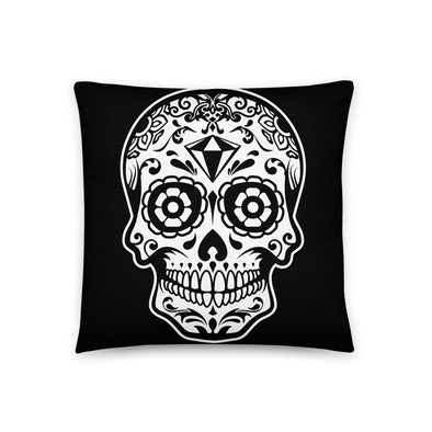 Basic Pillow Sugar Skull N° 1