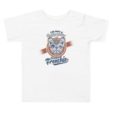 Freakin Frenchie Toddler Short Sleeve Tee