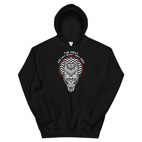 Owls are not what they seem Hoodie