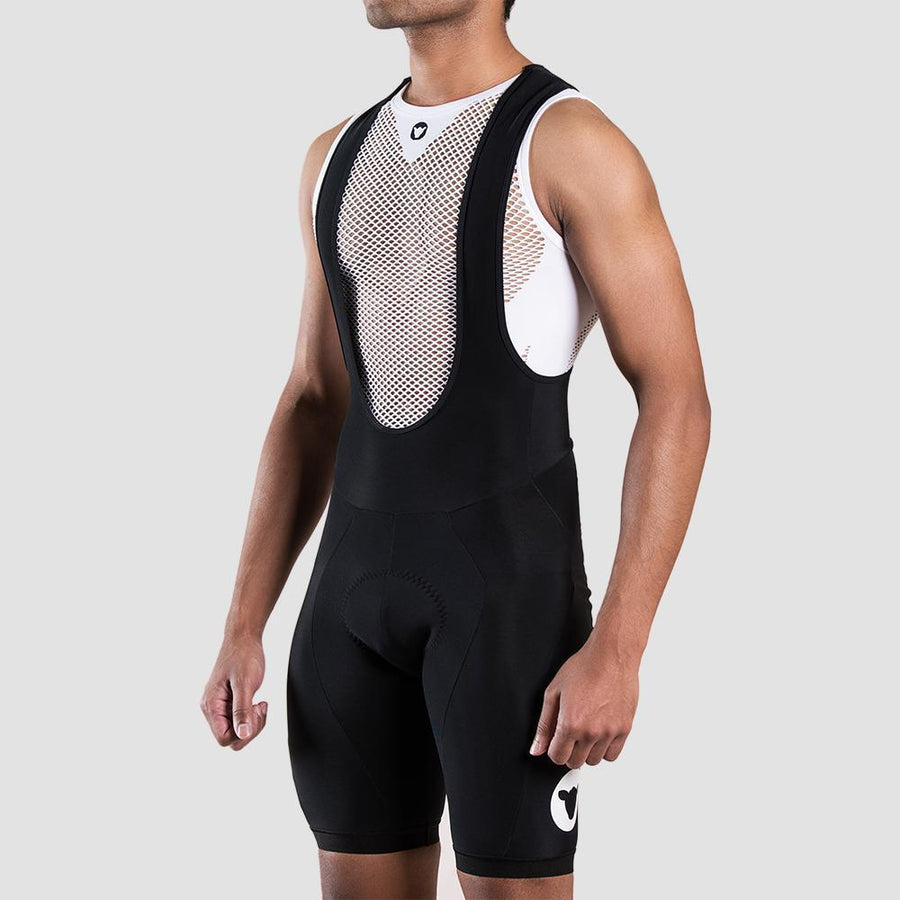 Men's Thermal Bib and Brace - White