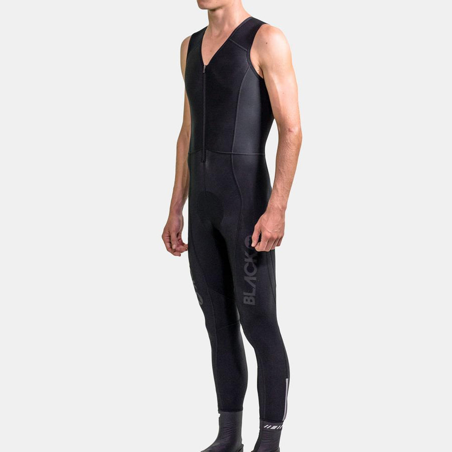 Elements Long Thermal Bibs - Black