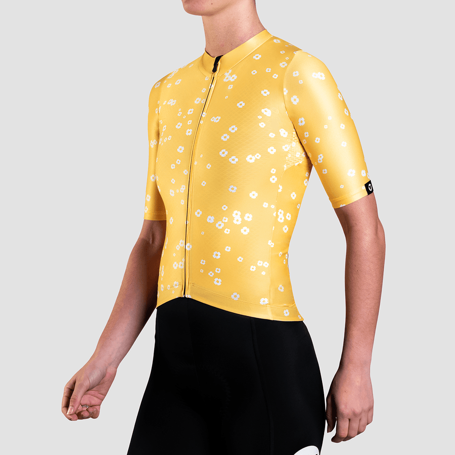 Women's Essentials TEAM Jersey - Daisy Yellow