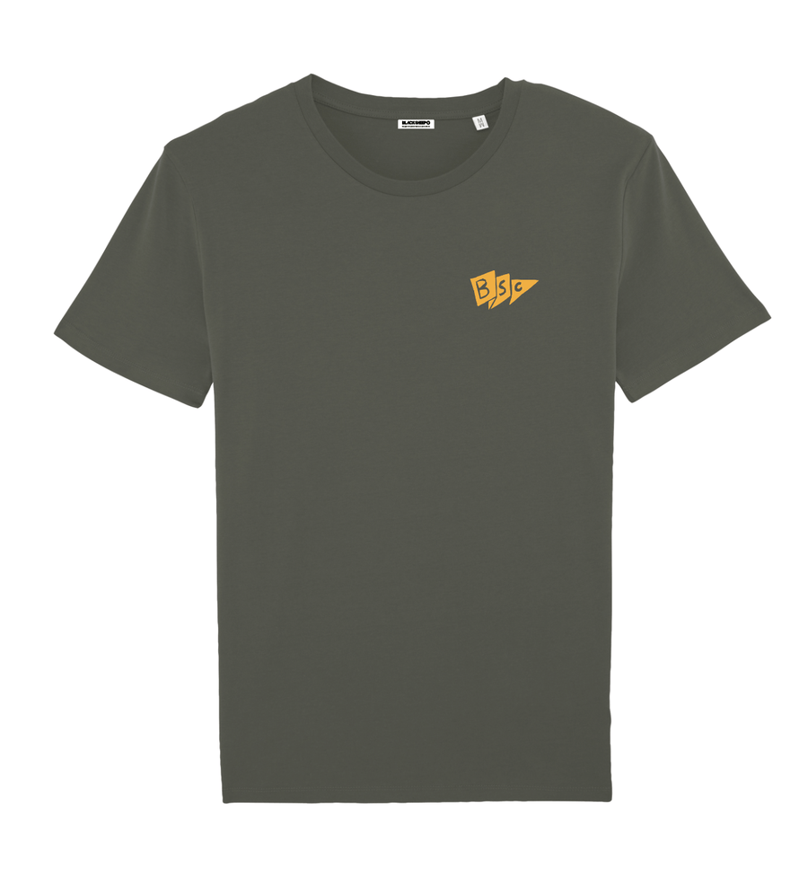 Men's TC19 Beach Tee - Khaki Flag