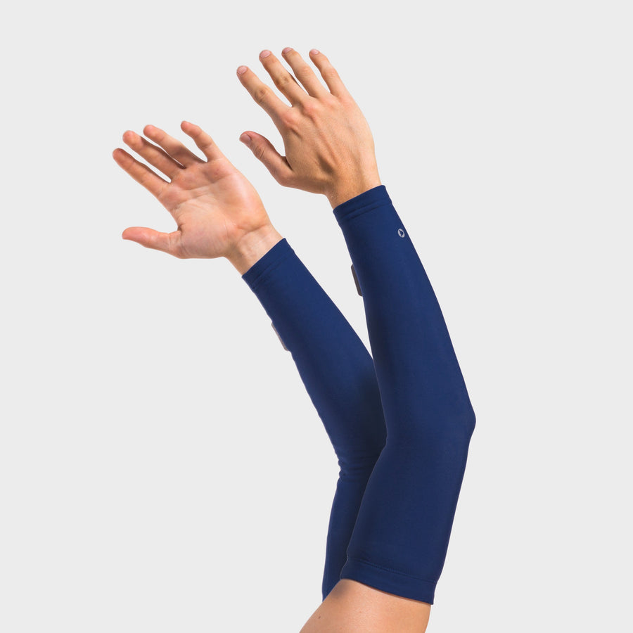 Navy Thermal Arm Warmers