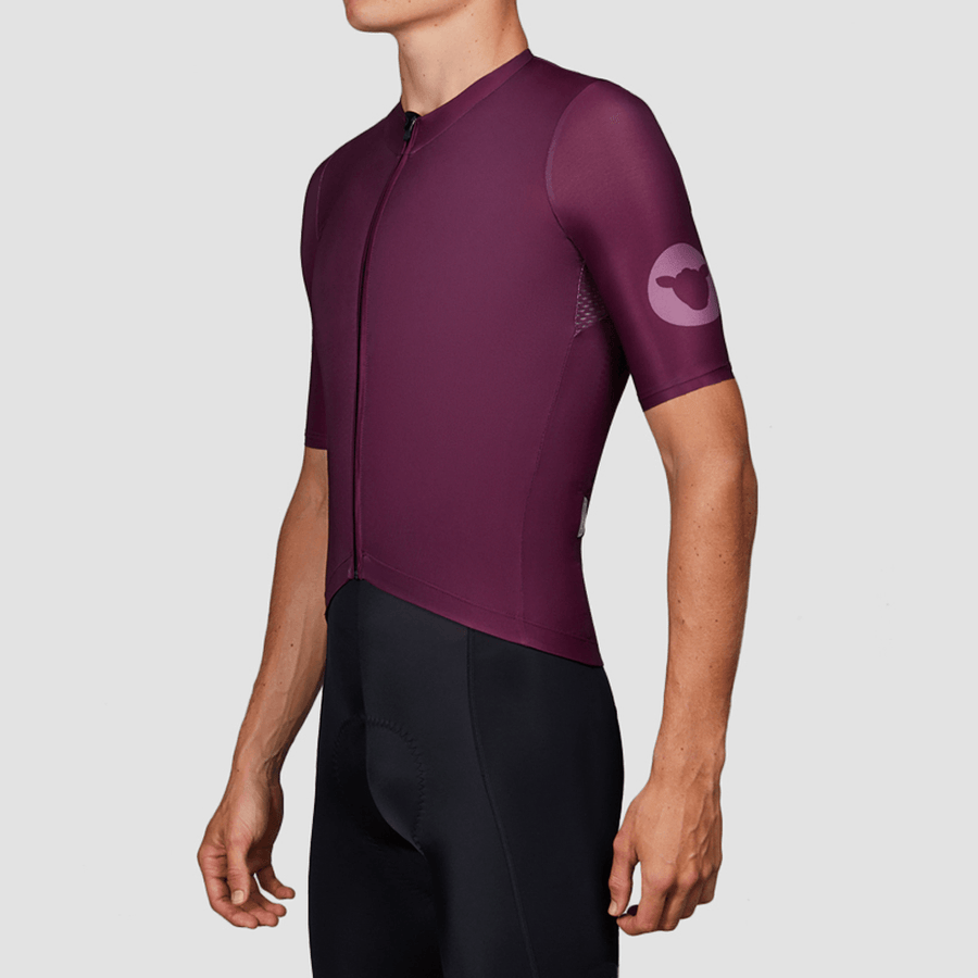 Men's TC19 Block Jersey - Plum