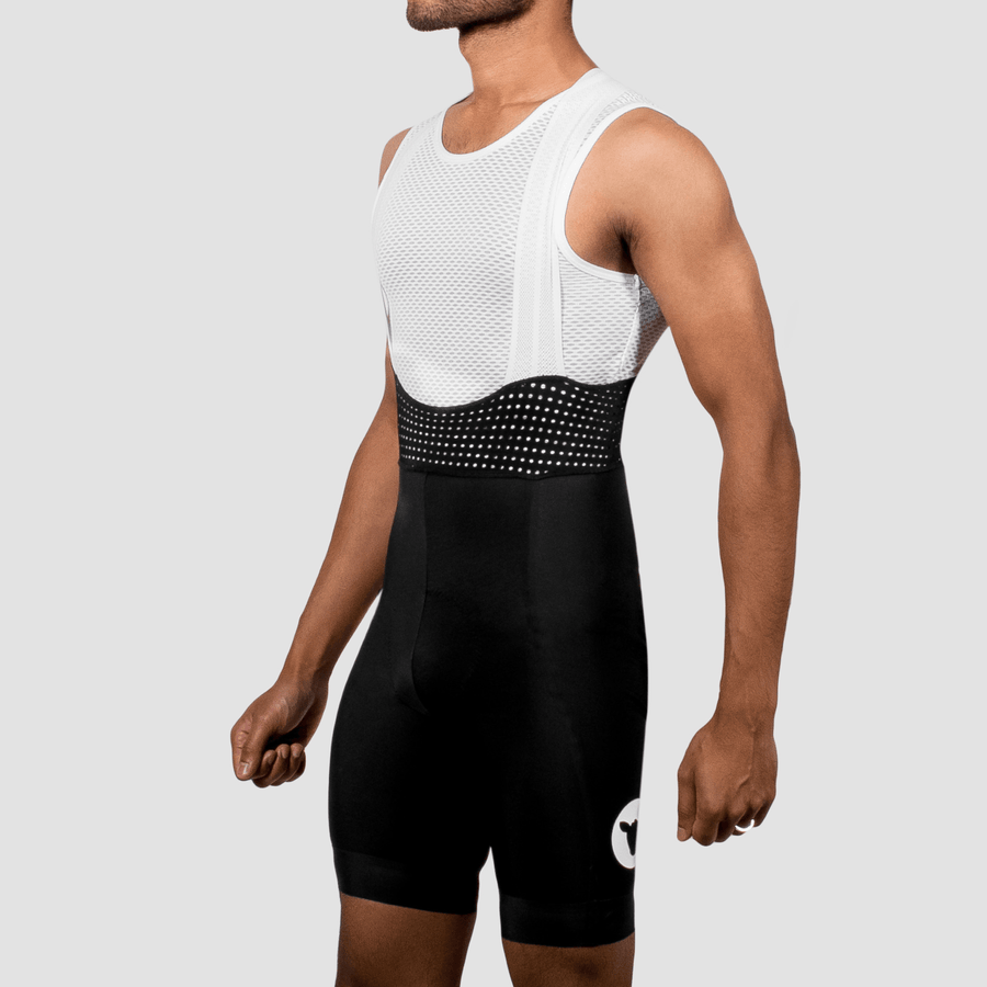 Men's Racing Bib - White