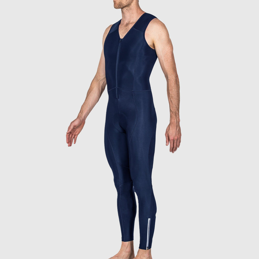Navy Thermal Bib Tights