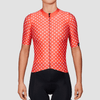 Women's TC19 Dot Jersey - Warm Red