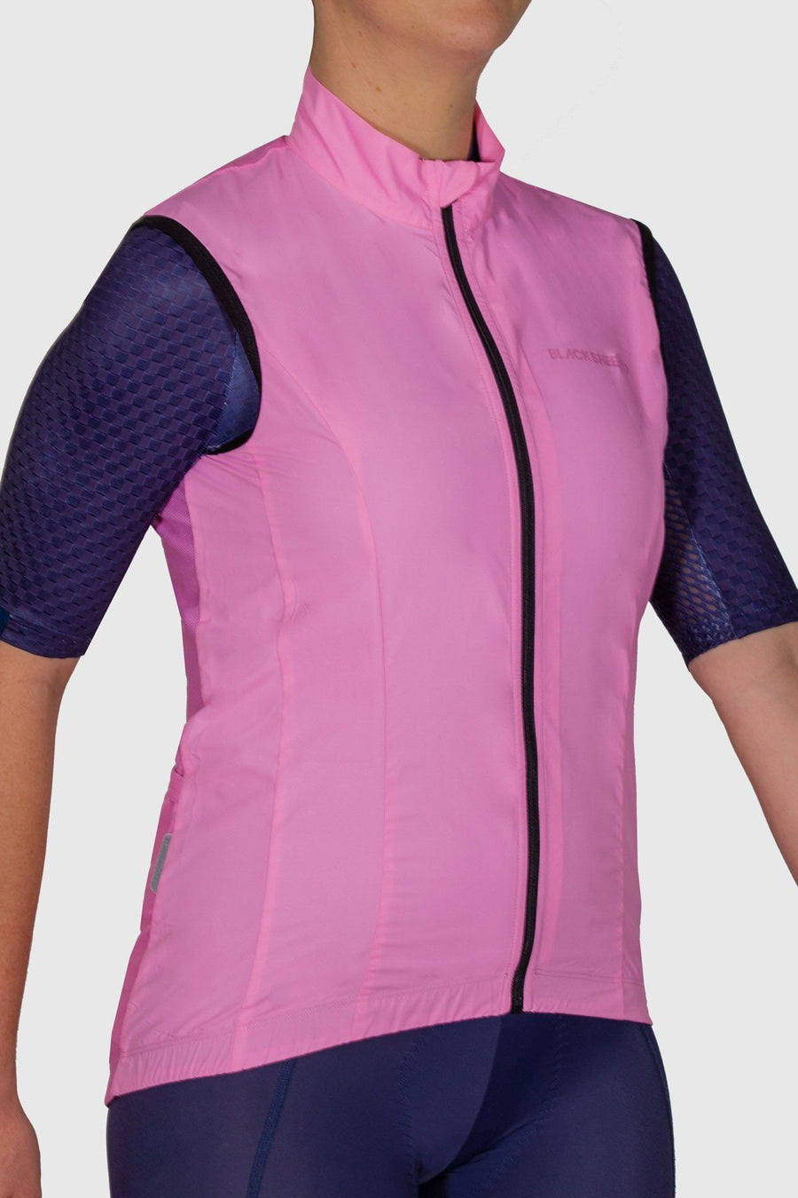 Euro Collection Women's Pink Wind Vest