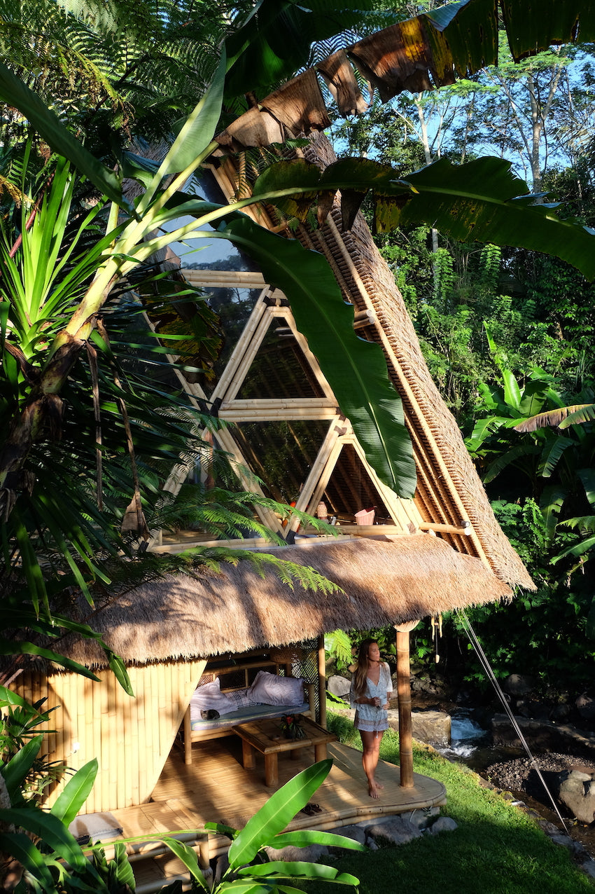 Most magical bamboo Airbnb ever: Hideout Bali