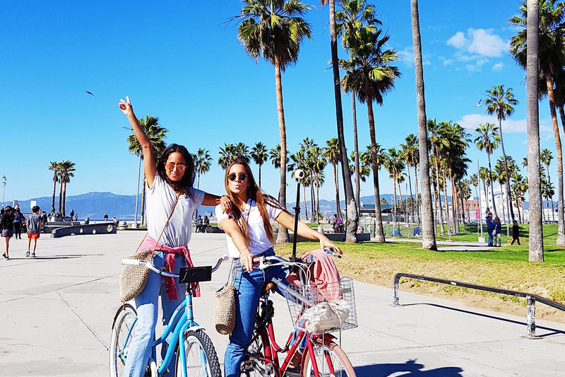 Biking in Los Angeles!