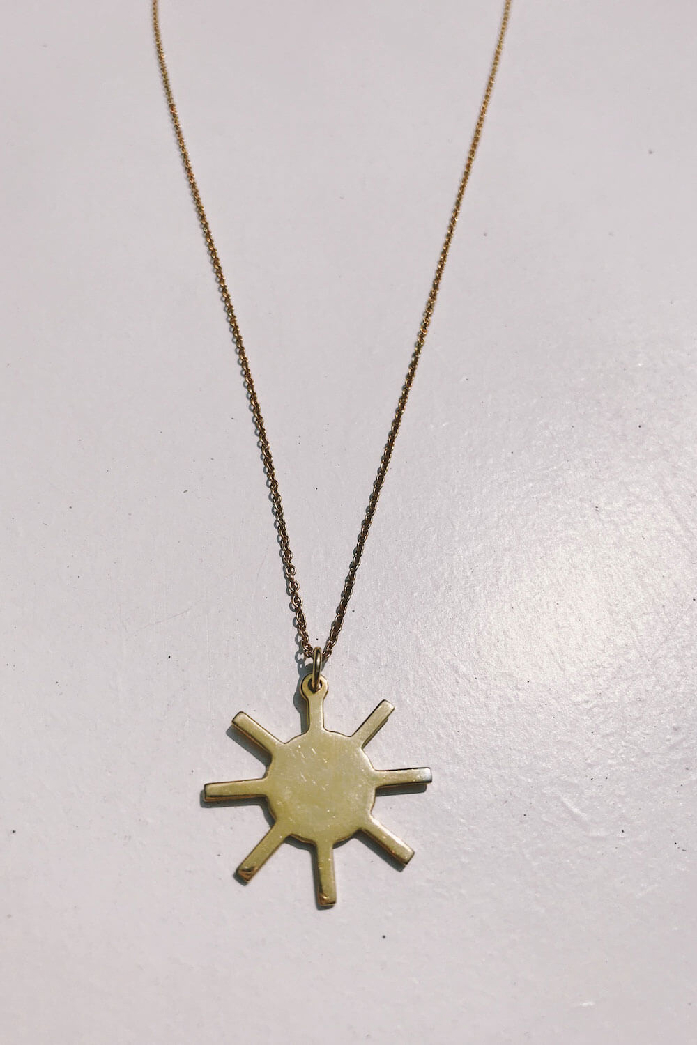 The Sun Necklace - Gold