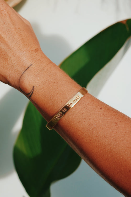 Take me to Bali Bracelet - Gold