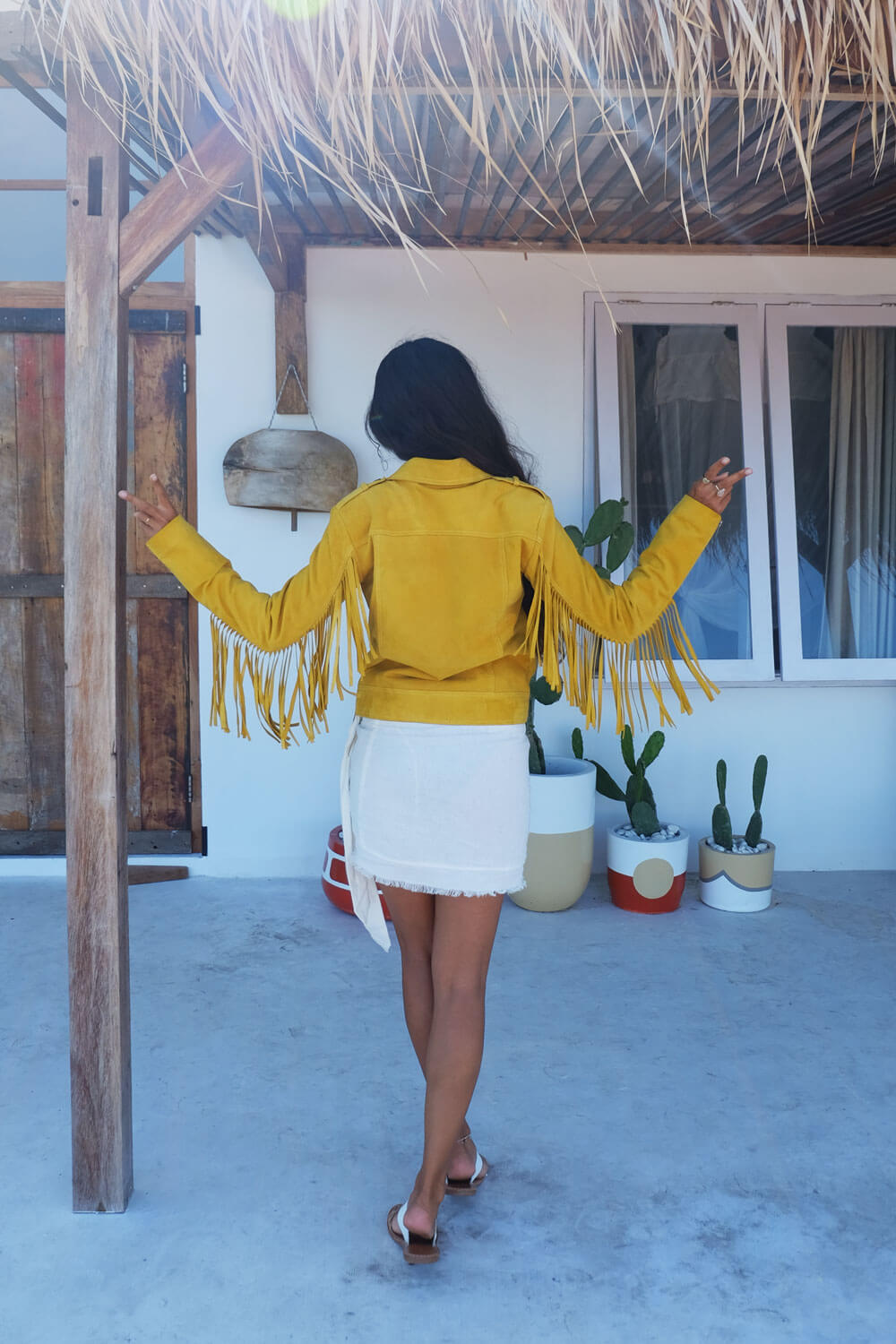 Sunkissed Suede Eve Jacket