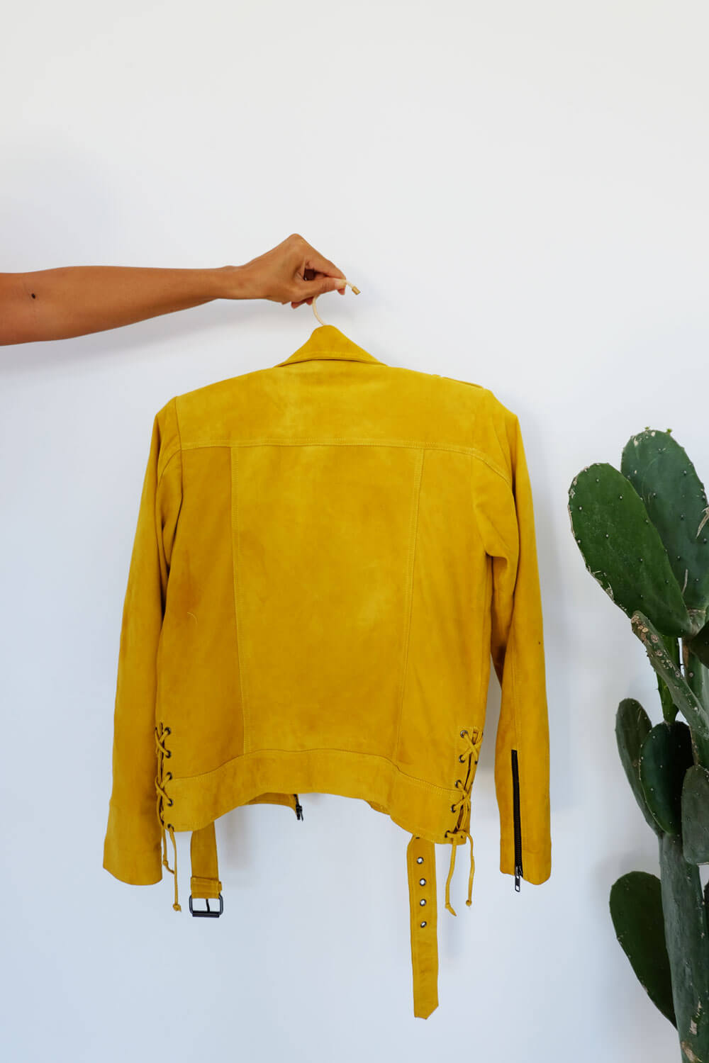 Sunkissed Suede Pris Jacket