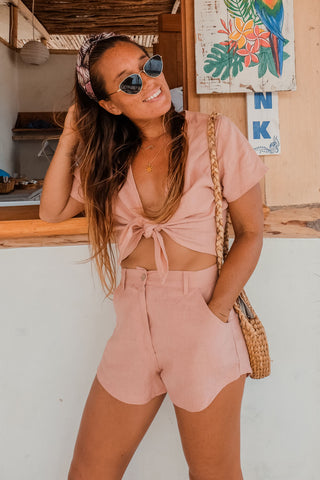 The Aloha Dress - PINK