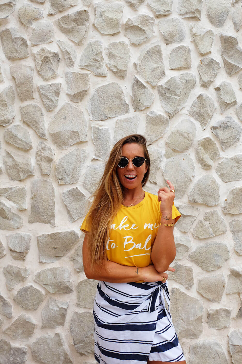 Take me to Bali T-shirt - Sunkissed