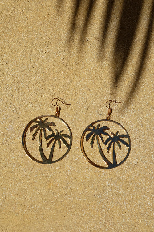 Palm Hoop Earrings