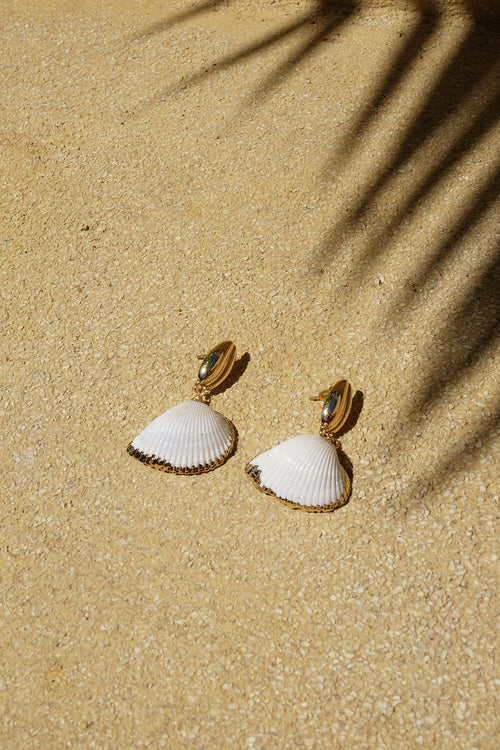 Sunrise Shell Earring