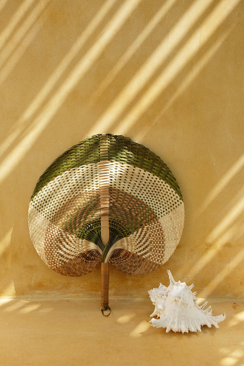 Bamboo Hand Fan XL