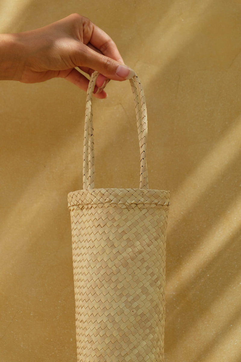 Bamboo Bottle Bag
