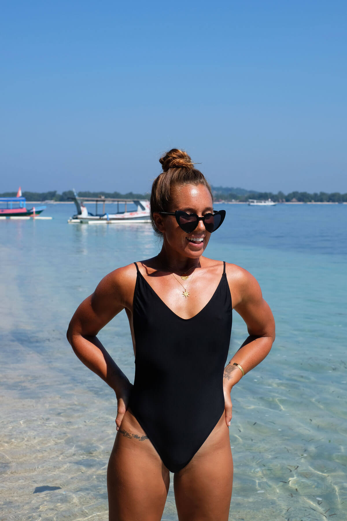 The Paradise One Piece Slim - Black