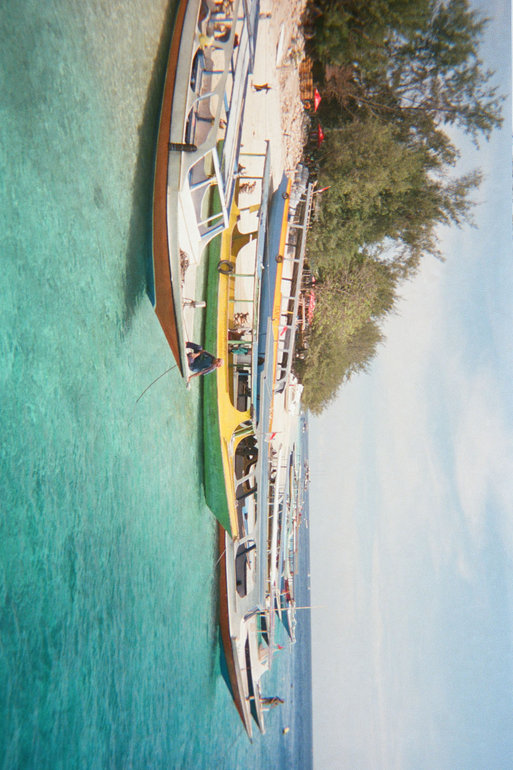 Photo Print: Harbour, Gili Trawangan