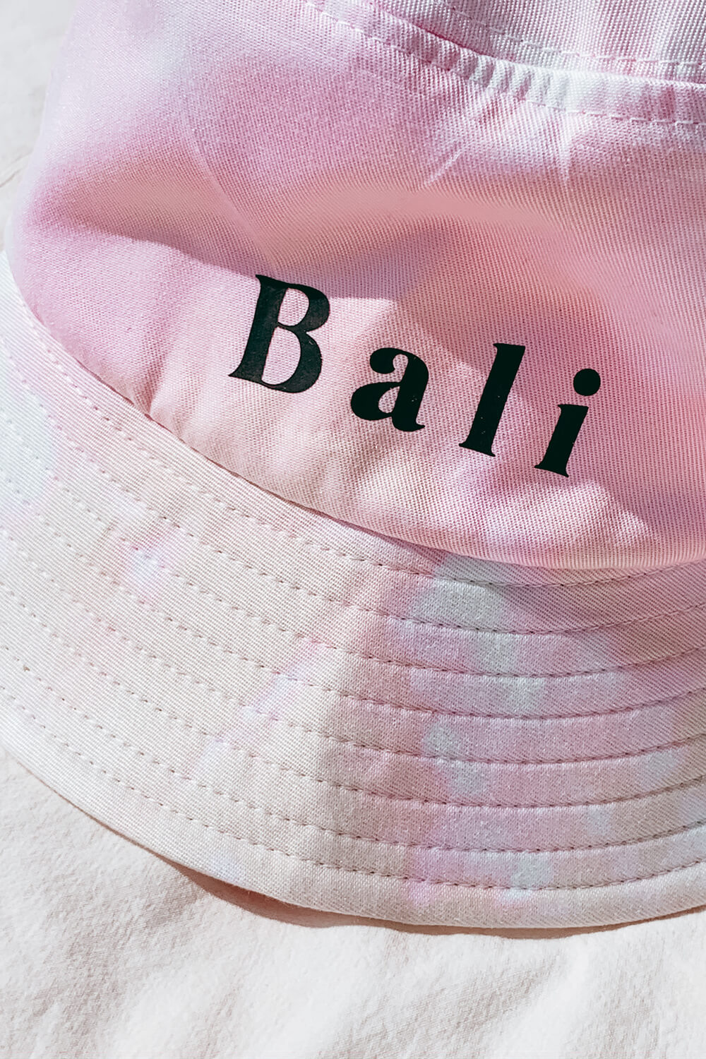 Bali Tie Dye Bucket Hat - Cottoncandy