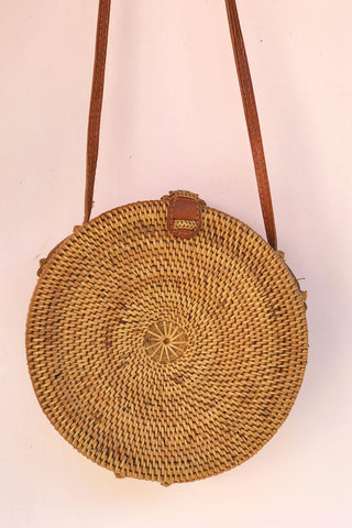 Banana Leaf Roundie Bag