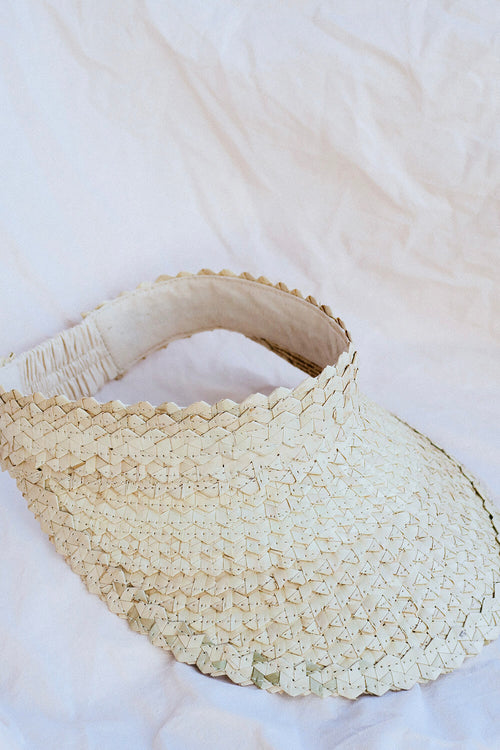 Island Visor - Light Creme