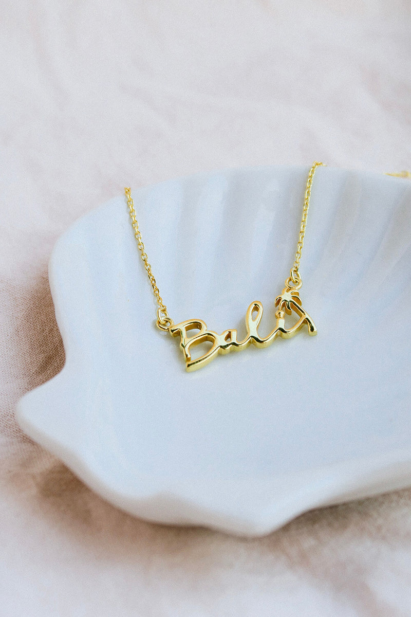 Bali Necklace - Gold