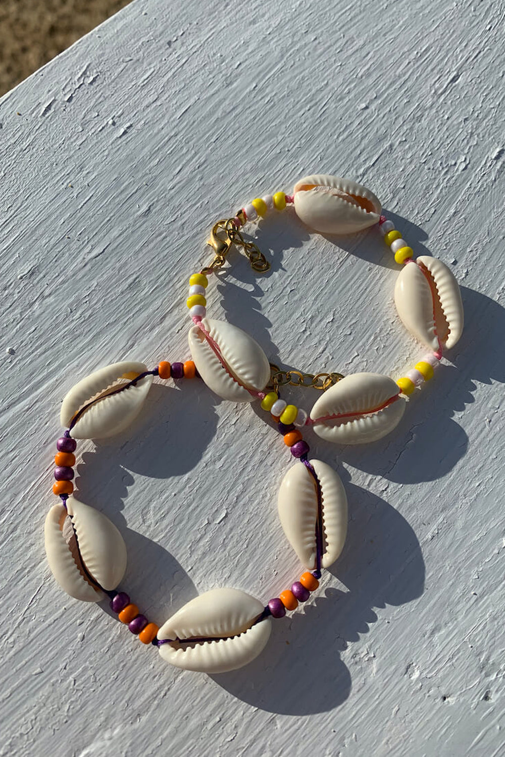 Shell we go to Bali bracelet