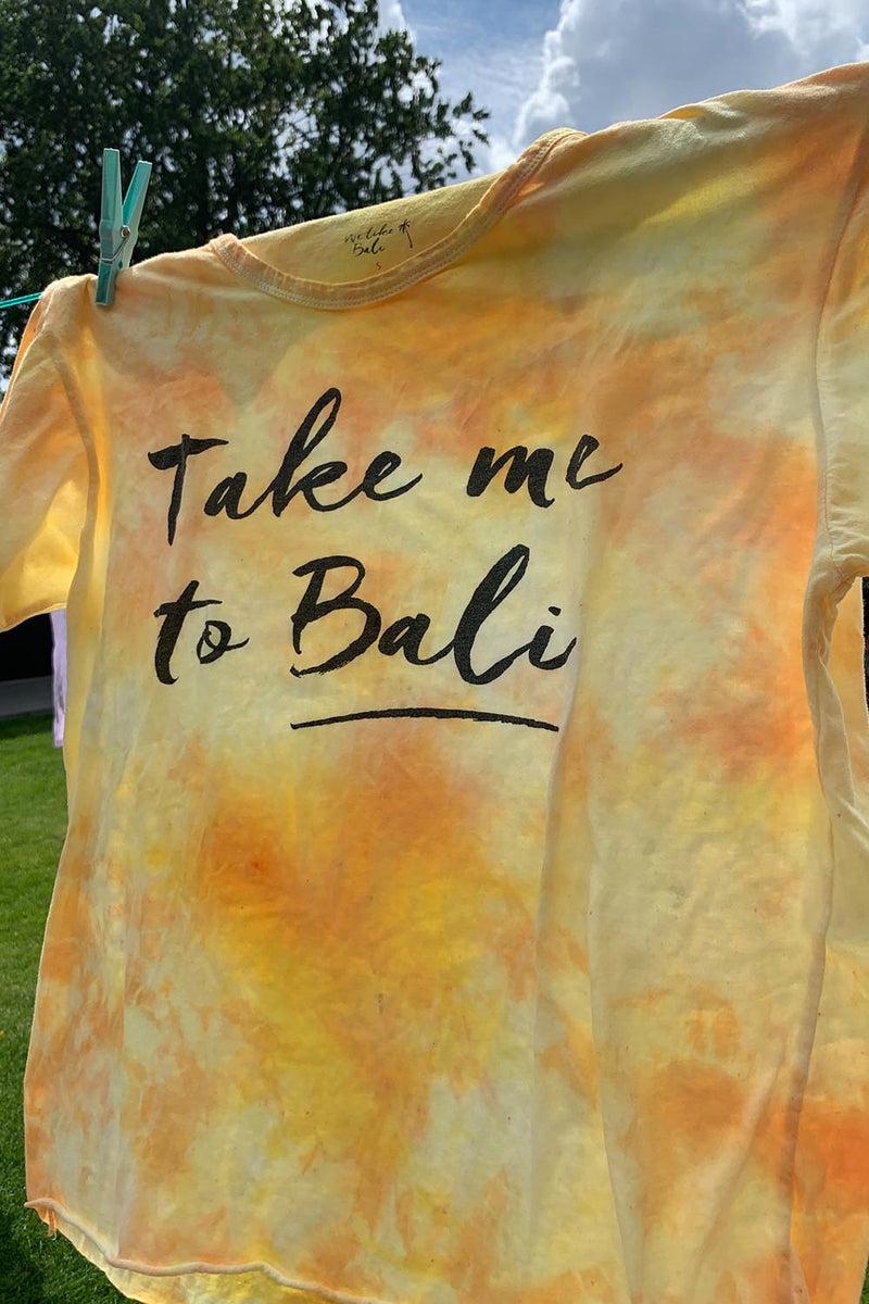 Take me to Bali tie dye T-shirt