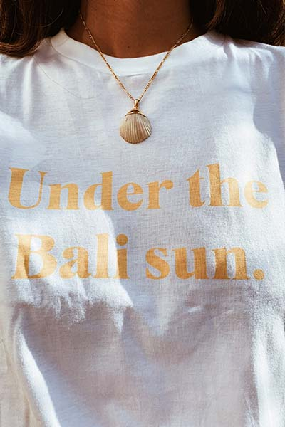 Under the Bali sun T-shirt