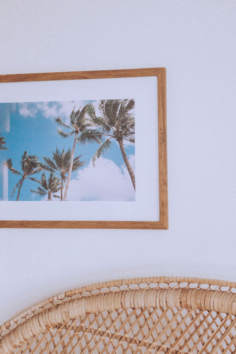 Photo Print: Palms Waving