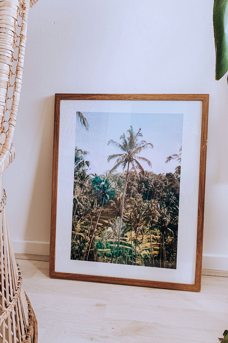 Photo Print: Tegalalang Ricefields, Bali