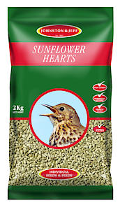 Johnston & Jeff Sunflower Hearts Bird Food