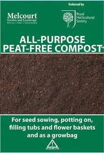 Melcourt All Purpose Peat Free Compost 50L
